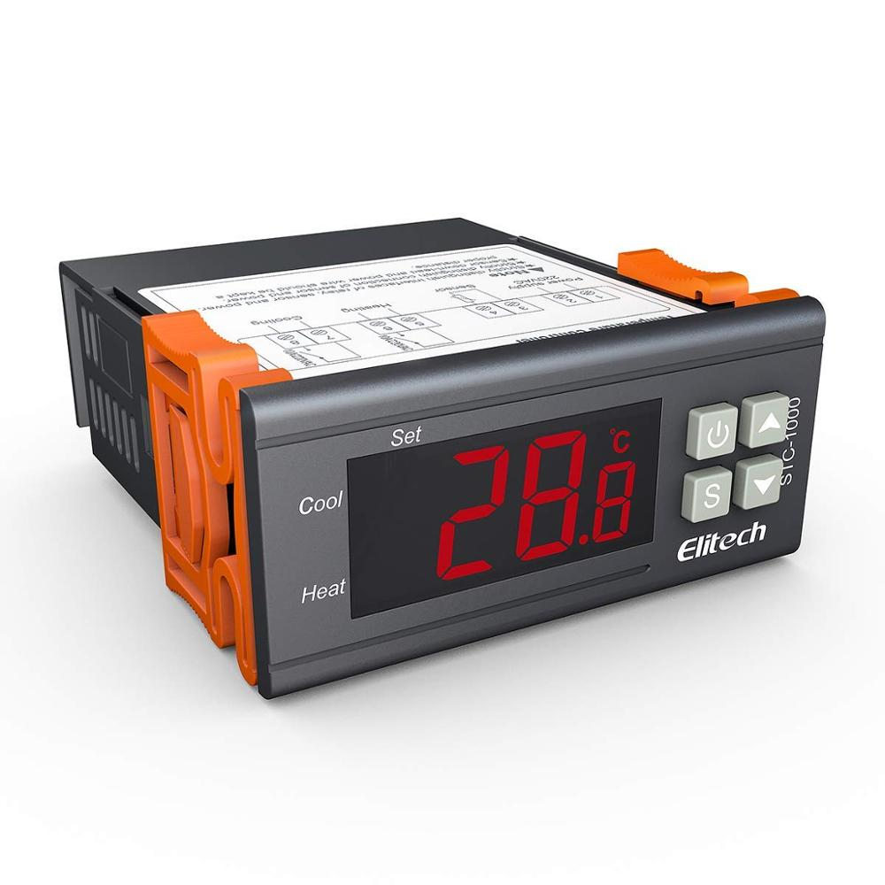 Digital STC-1000 All-Purpose Temperature Controller Thermostat With Sensor Probe