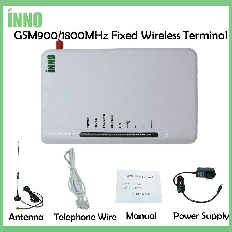 Inalámbrico fijo terminales GSM 900/1800 MHZ apoyo sistema de alarma RecordingPABX voz clara estable de la señal