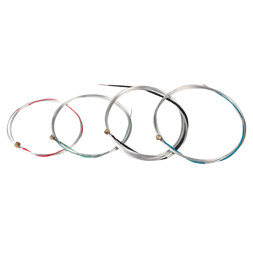 4 Pieces Full Set Cello Replacement Strings for 4/4 3/4 1/2 1/4 1/8 Size Cello