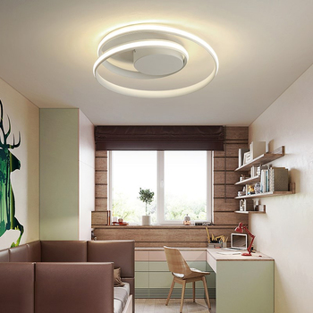 Simple Acrylic Modern Ceiling Lights For Home Living Room Bedroom Kitchen Ceiling Lamp Home Lighting Fixtures 24w modern acrylic led ceiling light bluetooth speaker music player rgb ceiling lamp lights for living room bedroom lighting