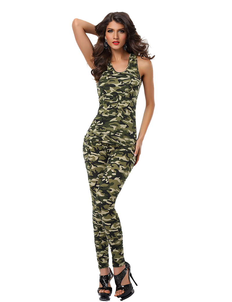 Aliexpresscom  Buy 2 Camouflage Colors Sexy Women Army -5248