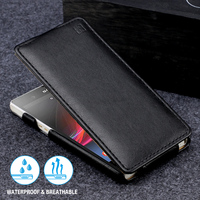 Newest IMUCA Luxury Flip Leather Case Skin Shell Cover For Sony Ericsson For Sony Xperia Z