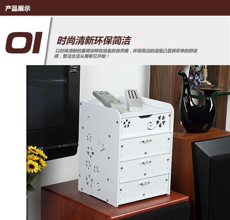 Creative Waterproof Desktop Storage Box Cabinet Drawer Type Multilayer  Storage Box Small Cabinet Drawers In Storage Boxes U0026 Bins From Home U0026  Garden On ...