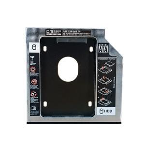 DM DW95S HDD Caddy 9.5mm Aluminum Optibay SATA 3.0 Hard Disk Drive Box Enclosure DVD Adapter 2.5 SSD 2TB For Laptop CD-ROM