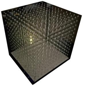 Image 3 - 3D12 RGB121212 Full Color Kubieke Led Cubic Diy Kit Halffabrikaten Zonder Shell 12*12*12 Glazen Gratis 3D