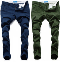 Хлопок прямой мужчины джинсы свободного покроя элегантный европейский стиль является simple джинсы мужчины джинсовый 28 — 40