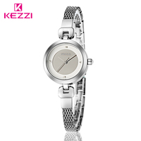 New 2017 KEZZI Fashion Women S Bracelet Watches Women Rhinestone Watches Women S Quartz Wrist Watch