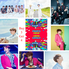 цена на Hope World Posters J-HOPE Wall Stickers High Definition Good Quality Glossy Paper Wall Decoration Livingroom Bedroom