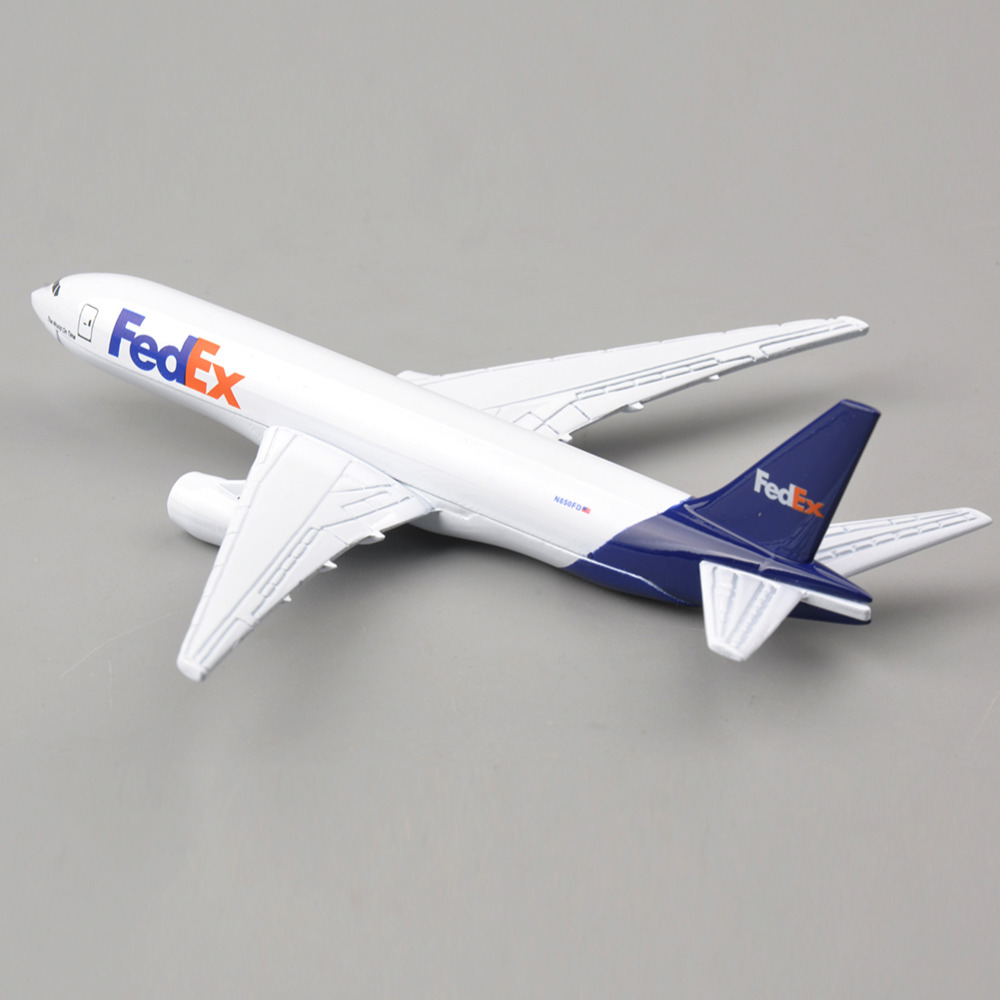 US $11 94 |16CM Long Brand New 1/400 Scale Airplane Models Fedex Boeing  B777 Diecast Metal Plane Model Toys Collections and Displays-in Diecasts &  Toy