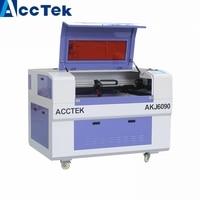 Acctek co2 лазерного древесины резак для продажи 6090