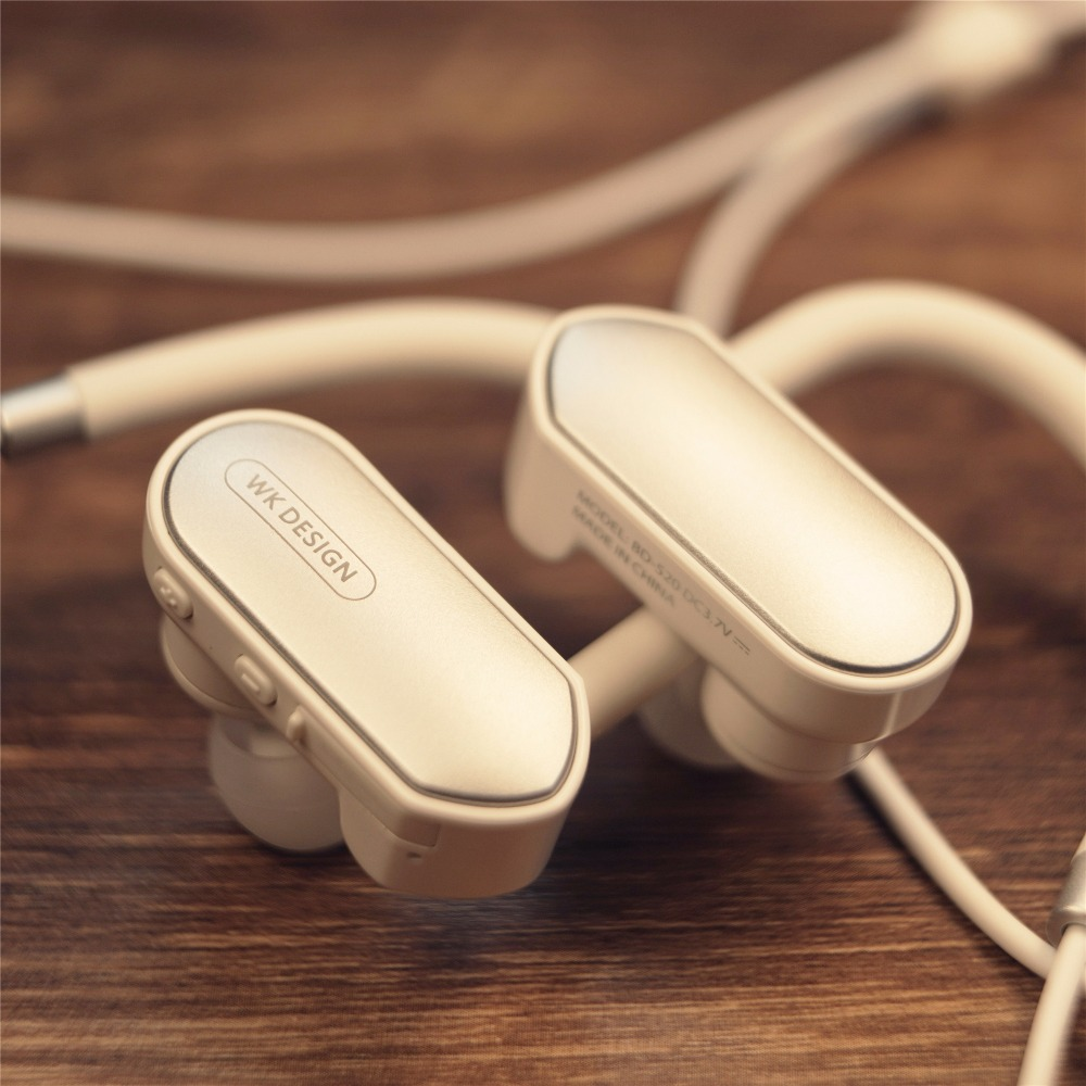 WK-BD520 bluetooth headphones IPX7 waterproof wireless headphone sports bass bluetooth earphone with mic for phone iPhone xiaomi