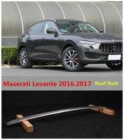 For Maserati Levante 2016.2017 Roof Racks Car Luggage Rack High Quality Brand New Aluminium Alloy Auto Accessorie