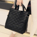 Luxury Women Designer Handbag High Quality Brand Plaid Leather Women Tote Messenger Bag Satchel Sac A Main Femme Shoulder Bag