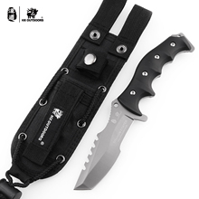HX Outdoors Seal High Quality 440C Stainless Steel Camping Hunting Army Survival Knife Outdoor Tools 58HRC Tactical Knives цена 2017