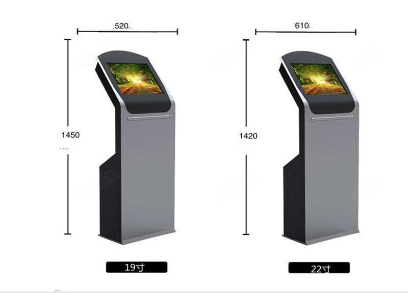 Kiosque androïde d'écran tactile de 19 pouces, Signage numérique de joueur de la publicité Wifi/3G - 3