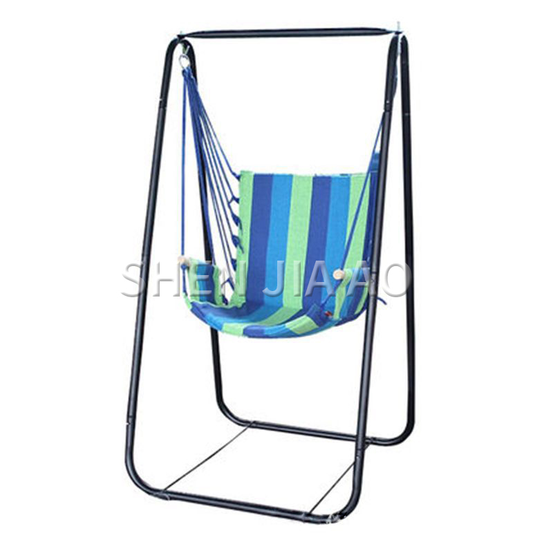 Outdoor Canvas Hammock With Stand Camping Leisure Beach Hammock B03-8 Colorful Indoor Swing Thick Beach Hammock 1PC