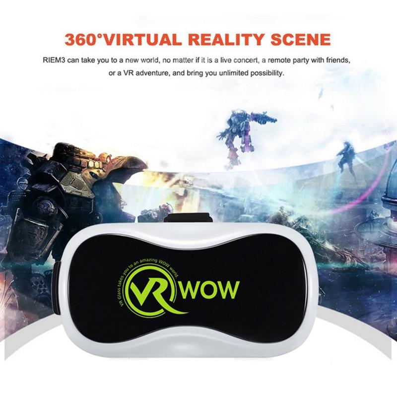 VR BOX 2.0 II Google 3D Glass Glasses VR Glasses Virtual Reality Case Cardboard Headset Helmet For Mobile Phone iPhone 7 6 6s 5 17