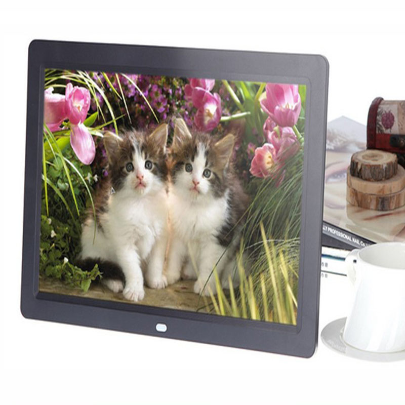 Tempered Glass Version of Electronic Photo Frame high-Definition Screen Ultra-Thin Body 12 13 14 15 19 22-inch Ultra-Thin high-Definition Digital Photo Frame