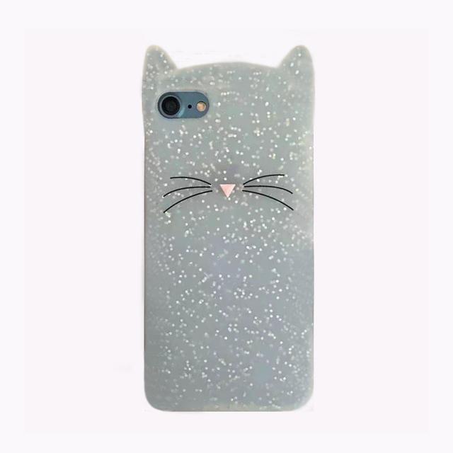 Cute Cat Soft Silicone Phone Case