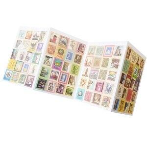 Image 5 - Pegatinas de sellos plegables Vintage, 30 paquetes por lote, etiqueta adhesiva multifunción DIY, decoración romántica para el hogar, varios estilos al por mayor