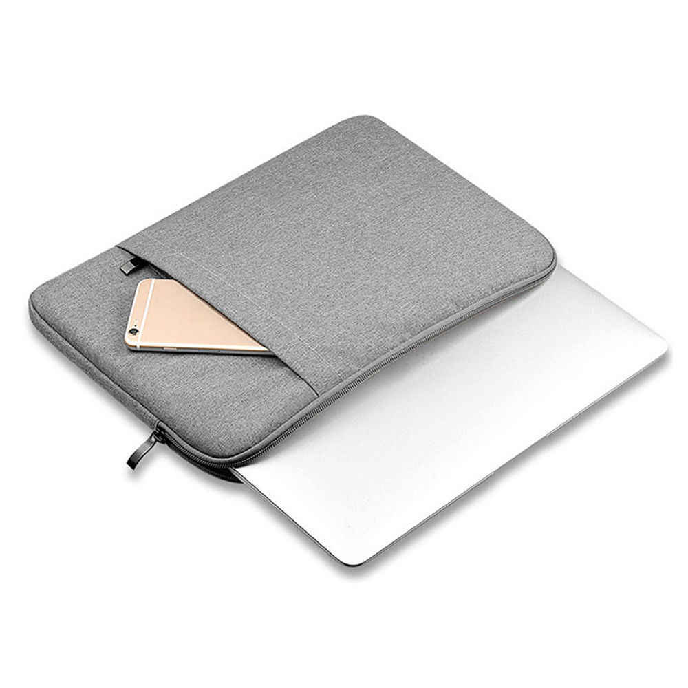 "Laptop bag Sleeve Case Voor Laptop 11 "", 12"", 13 "", 14"", 15 inch, Tas Voor Macbook Air Pro 13.3 "", 15.4"" Waterdichte Rits Notebook tas"
