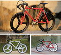 DIY alloy bicycle toy model assembling bicycle model road vehicle model