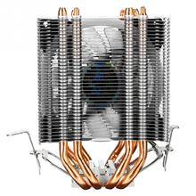 Colorful RGB LED CPU Fan Cooling Cooler Copper Heat Pipe Heatsink PC Gamer For Intel LGA 1150 1151 1155 1156 1366 775 2011 AMD 4 heatpipe cpu cooler heat sink for intel lga 1150 1151 1155 775 1156 new