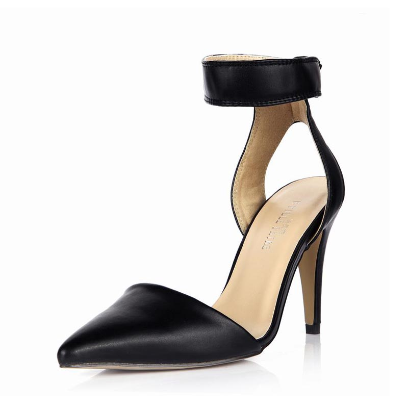 ФОТО New Women Sandals Sexy High Heels Pointed Toe Shallow Zapatos Mujer Tenis Feminino Woman Ladies Valentine Club Dress Party Shoes