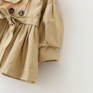 Image 3 - ベビージャケットcasaco infantilガールベビーコート2019春ベビーjasトレンチダブルブレストウインドブレーカー子供のためのジャケットのための1 4t