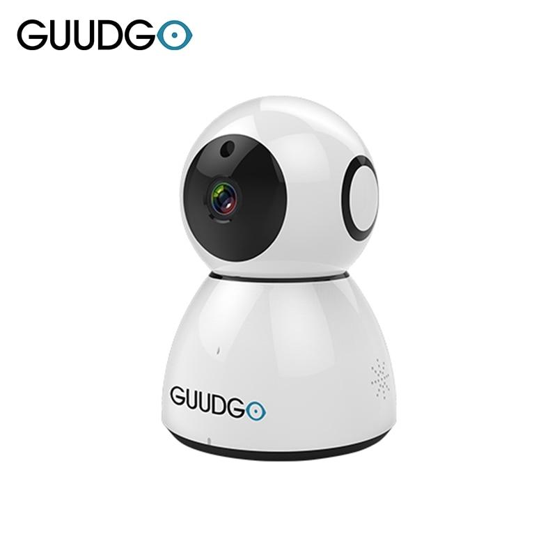 GUUDGO GD-SC03 Snowman 1080P Cloud WIFI IP Camera Pan&Tilt IR-Cut Night Vision Motion Detection Alarm Monitor VS Xiaomi Yi