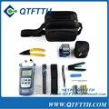 Kit de Herramienta de fibra Óptica FTTH con Cuchilla De la Fibra FC-6S y Medidor de Potencia Óptica 5 km Visual Fault Locator pelacables