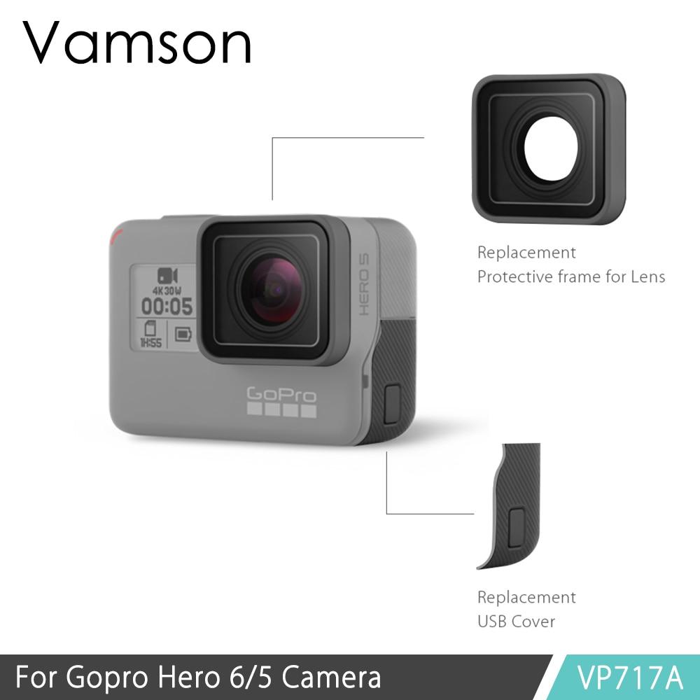 купить Vamson for Gopro Accessories Protective Lens Replacement for Gopro Hero 6 5 Action camera VP717 по цене 749.62 рублей