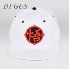 Dragon Ball Z Goku Hat Snapback Hip Hop Caps