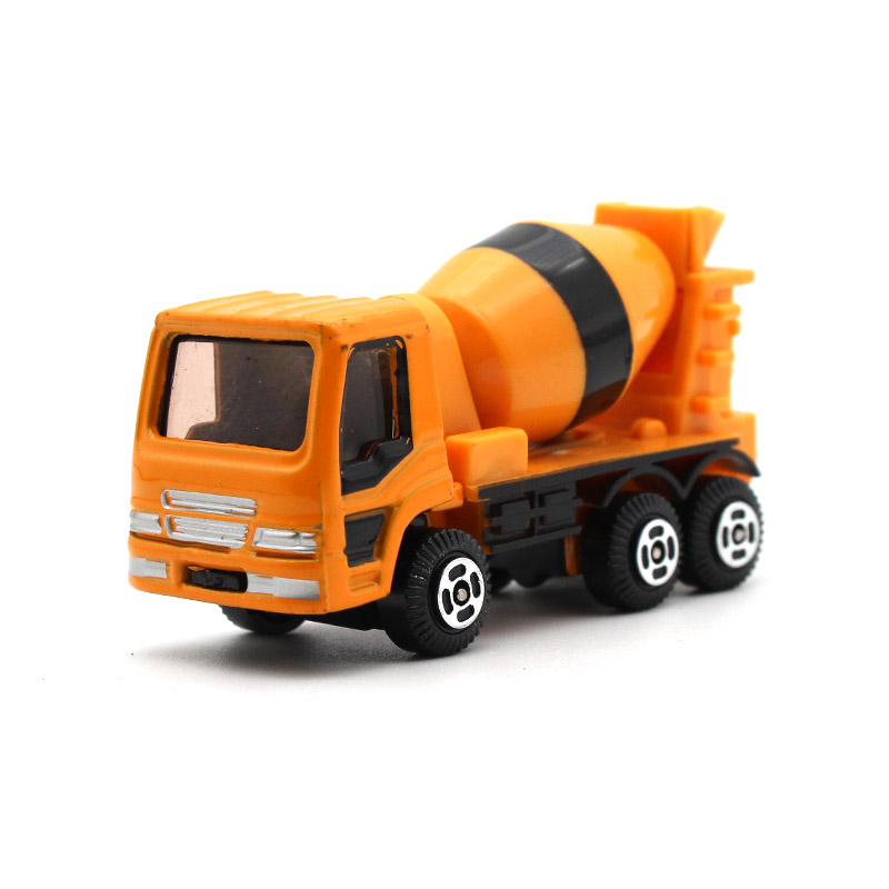 AL 1:64 Diecast Alloy car model Concrete mixer truck kids toys Collection decoration Give your child the best gift