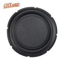 GHXAMP 10 Cal Bass Radiator pasywny głośnik płyta wibracyjna audio aux Basin głośnik naprawa części gumowa krawędź 1pc