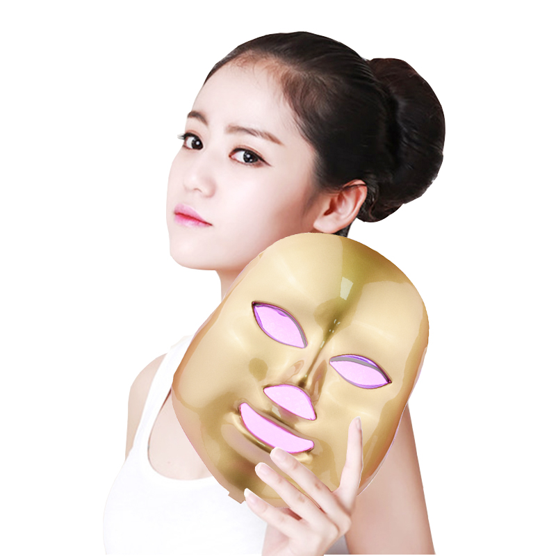 Latest 7 Color LED Mask Facial Care Anti-Wrinkle Machine Acne Removal Beauty Spa Device Skin Rejuvenation White Face Masker beurha facial mask led photon wrinkle acne removal beauty spa facial care led device skin rejuvenation electrical skin care tool