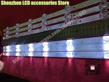 15 جزء/الوحدة لاستبدال الخلفية صفيف LED قطاع بار LG 32LB585V 32LB550U 32LB550B 32LF561V 10 قطعة A + 5 قطعة B