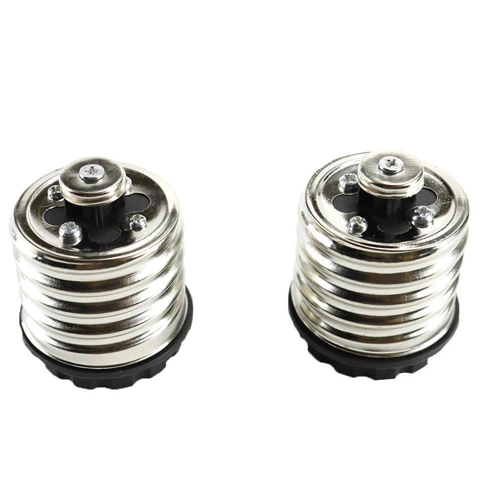 1pcs E40 To E27 Lamp Holder Converters Led Light Bulbs Base Adapter For LED Halogen Filament CFL Light 16A 220V JQ