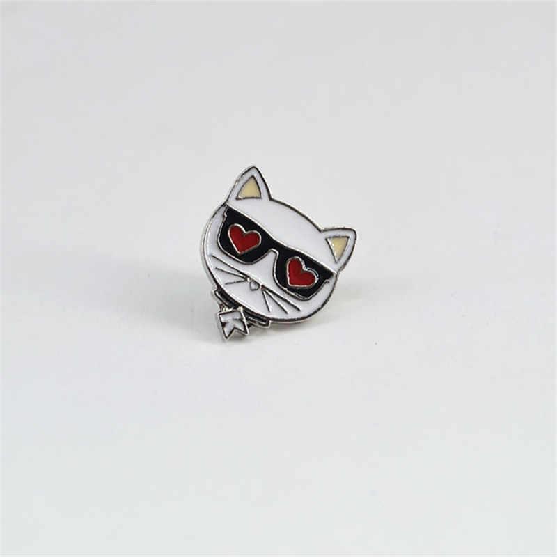 2019 nowe japońskie i koreańska retro style cute kitten zwierząt osobowość moda broszka mała biżuteria