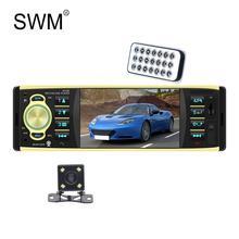 SWM 4.1 Car Radio Reverse Camera Bluetooth Autoradio Tape Machine Coche 1080P HD MP5 Player Radios Para Auto Stereo