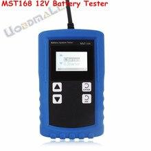 Vehículo nuevo Maestro MST-168 Automative Batería Digital Probador de La Batería 12 V Batería Analizador para SAE IEC en DIN Envío Libre