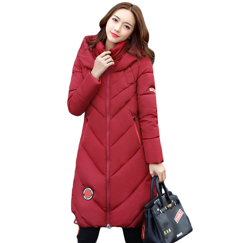 High Quality Thickening Warm Parka Hooded Women Winter Jacket Snow Wear Female Long Slim Winter Cotton-padded Wadded Coat CM1490 high quality thickening warm parka hooded women winter jacket snow wear female long slim winter cotton padded wadded coat cm1490