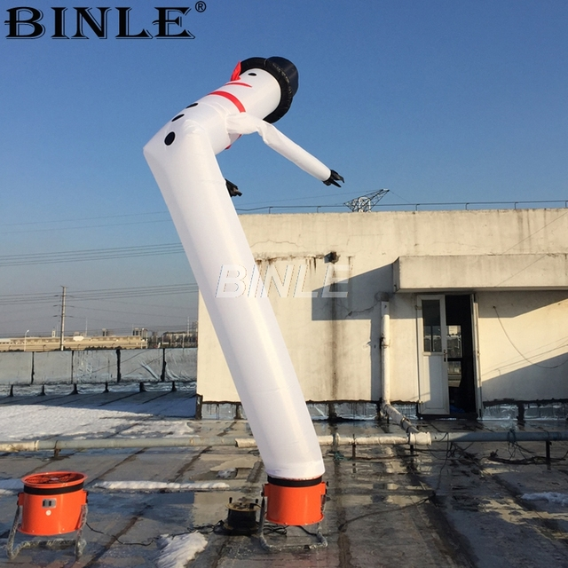 2b16066d82d Outdoor one leg funny snowman inflatable christmas dancer air tube sky  dancing man for holiday decoration. Price  US ...