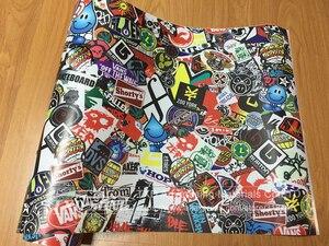 Новый тип Граффити стикер автомобиля бомба обёрточная бумага лист наклейка винил Сделай Сам Стайлинг автомобиль Скейт Скейтборд ноутбук С...