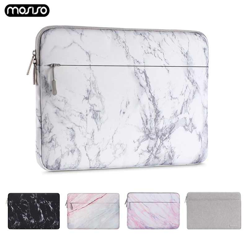 Mosiso Laptop Sleeve Bag Tas Notebook Case untuk Dell Asus Lenovo HP Acer Kanvas Komputer Membawa Case untuk MacBook Air pro 13 15