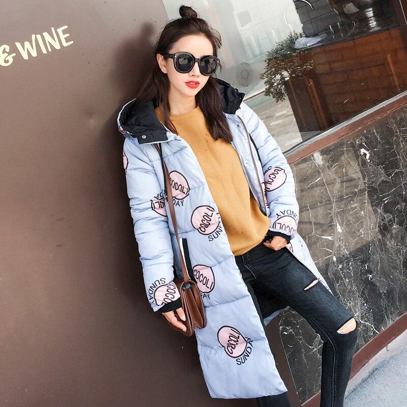 Femmes Noir bleu Fourrure D'hiver blanc Col Dames Chaud Hiver Parkas Hndjxxxy Long Manteau Rembourré Avec Veste Outwear 2018 De Vestes OTxRRqUtw