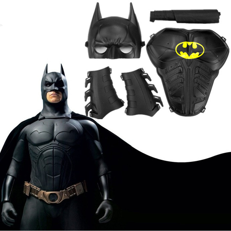 Batman <font><b>Mask</b></font> <font><b>Spiderman</b></font> <font><b>Mask</b></font> Set Kids Halloween Cosplay Children Costumes Gift Cartoon Superhero Half <font><b>Face</b></font> <font><b>Masks</b></font> Christmas Gift
