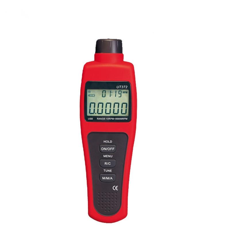 все цены на  New Professional Portable UT371 Data Hold 99999 Counts Non-Contact High Accuracy Handheld Digital Professional Tachometers Meter  онлайн