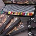 Deli crayon aquarelle peinture crayon Lapis De Cor Prismacolor crayons De couleur Lapices De couleurs Pastel crayons outils De dessin