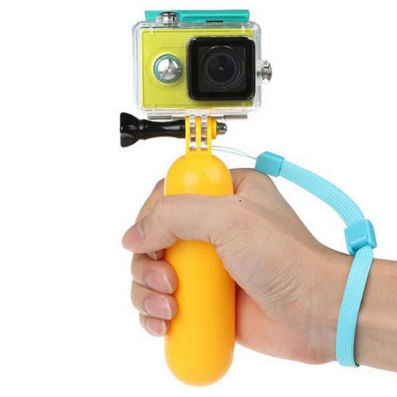 Handle Float Bobber Grip Waterproof for GoPro Hero 8 7 6 5 4 Session 4K SJCAM SJ5000 Action Camera Bobber for Go pro 7 Accessory-0